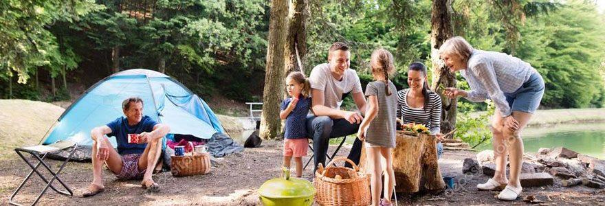 camping en Ardèche